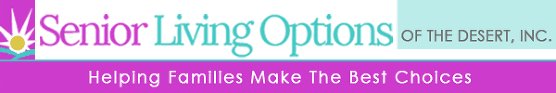 Senior Living Options of the Desert - Logo