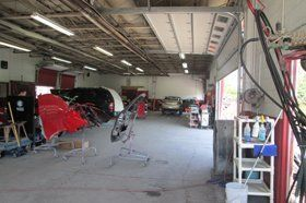 Auto body equipment