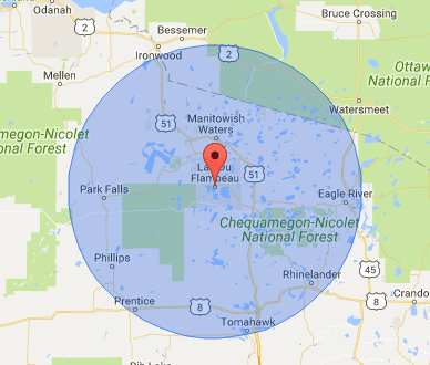 Well Inspections Code Violations Lac Du Flambeau WI - 715 area code