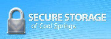 Secure Storage of Cool Springs - Logo