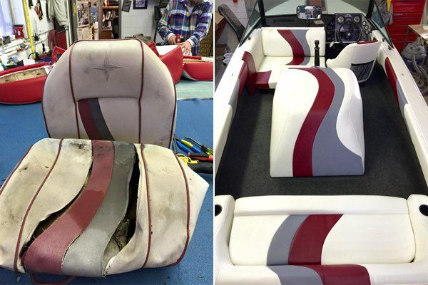 Boat Upholstery Services