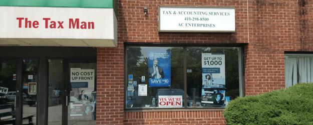 tax service office