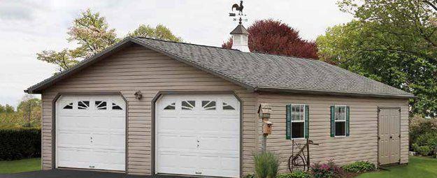 Two Car Garages From The Amish In Pa: Amish-Made Garages