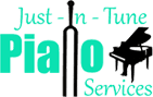 Just-In-Tune Piano Services - Logo