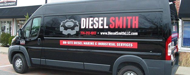 Diesel Smith vehicle wrap created by Sign It!