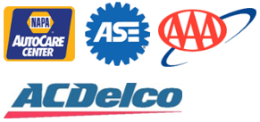 NAPA Auto Center - ASE Certified - AAA Approved Facility - ACDelco Qualified