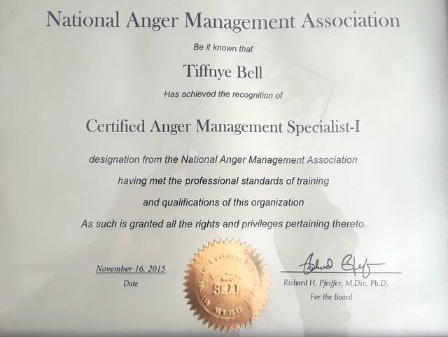 Anger Management | Conflict Resolution | Dallas, TX