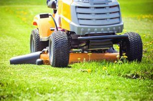 an independently owned lawn care business