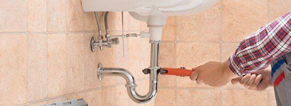 Sink pipe installation