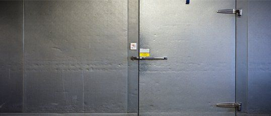Commercial freezer and refrigerator