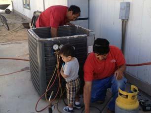 Heating repairing