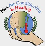 Max Air Conditioning & Heating - Logo