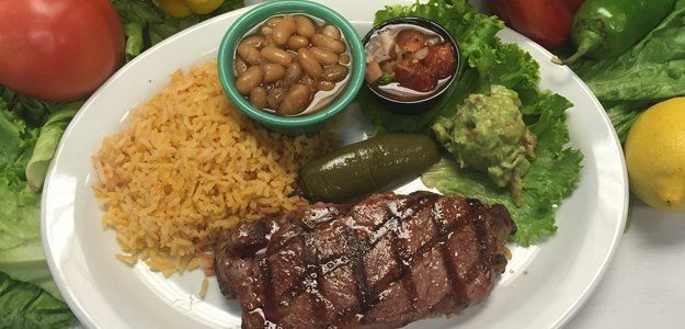 Mexican dish with spanish rice
