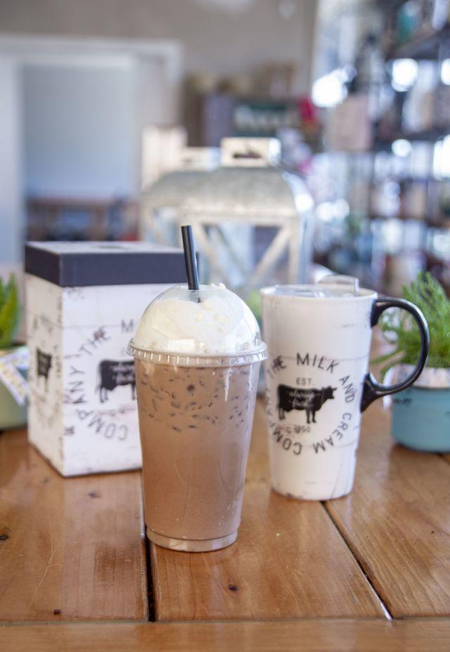 The Creamery Co  Frozen Yogurt Shoppe & Coffee House