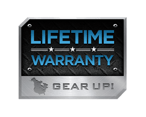 Lifetime warranty Gear Up
