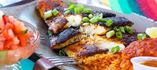 Blackened White Fish
