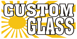 Custom Glass - logo