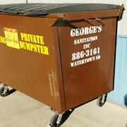 Garbage pickup