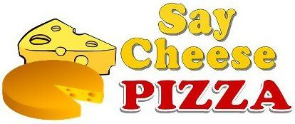 Say Cheese Pizza logo