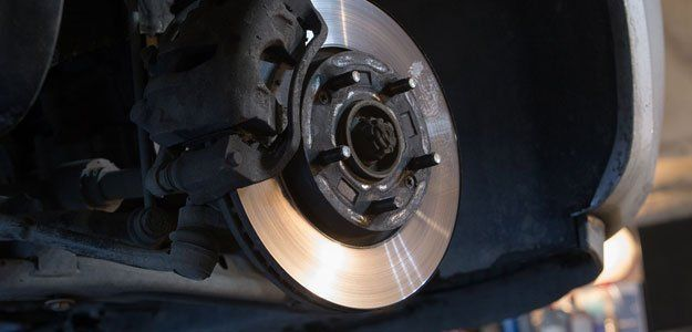 brakes of a car