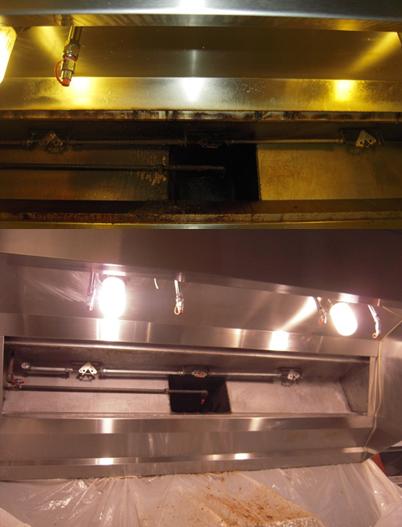 Restaurant hood cleaning
