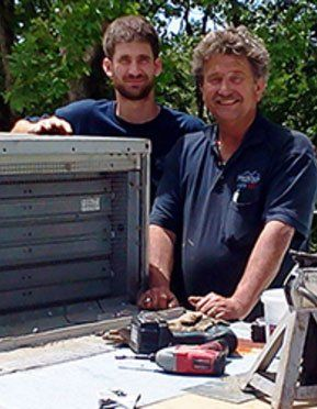 Ed and Michael Warren