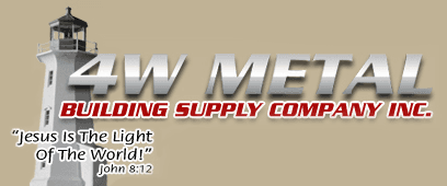 4W Metal Building Supply Inc - logo