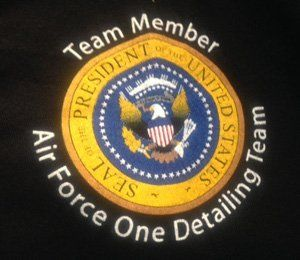 Team Member Air Force One Detailing Team - Logo