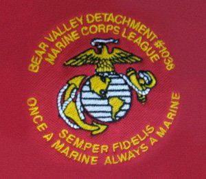 Bear Valley Detachment Marines - Logo