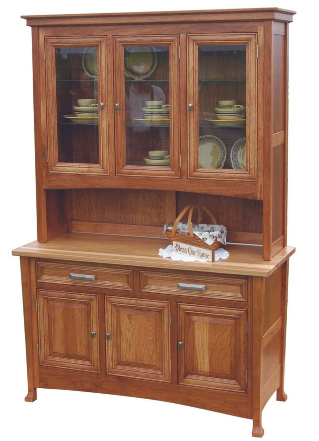 Amish Country Heirlooms Wooden Kitchen Hutch Photo Gallery Arthur