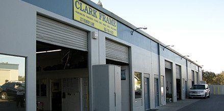 Clark Frame & Wheel Alignment shop