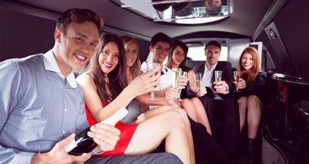 Limousine Bachelorette Party