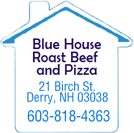 Blue House Roast Beef & Pizza - Logo