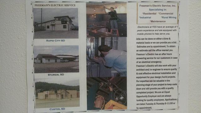 Freeman's Electric Service Inc