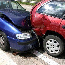 Collision cars