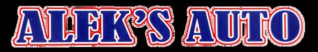 Alek's Auto-Logo