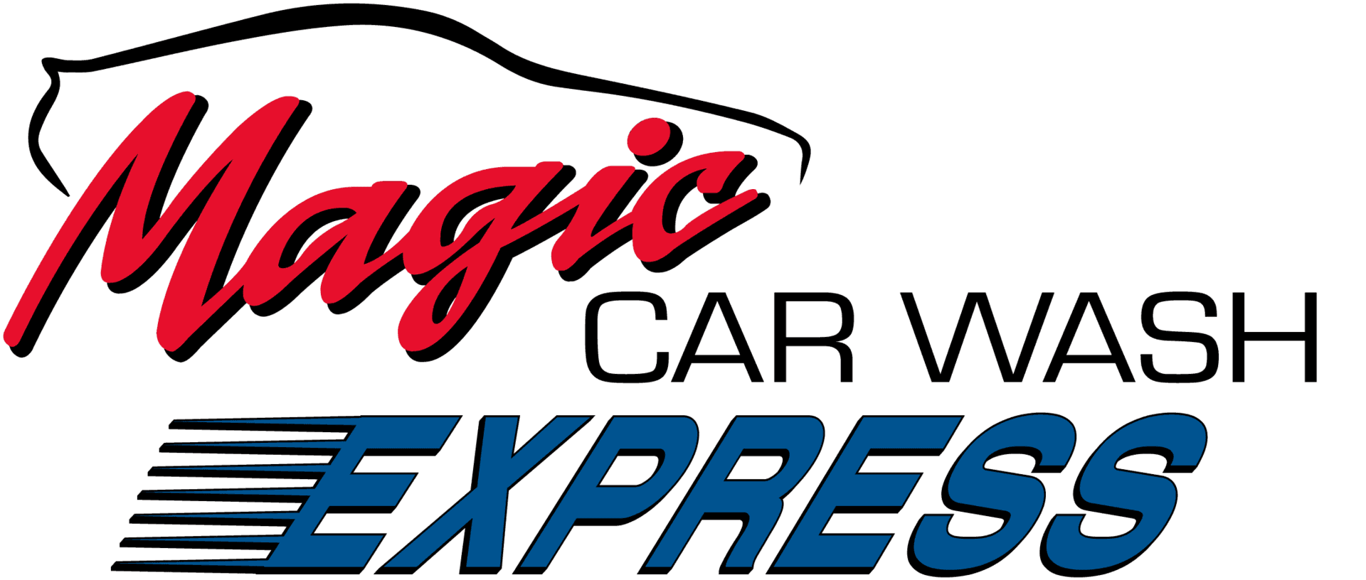 Magic Car Wash Express  Logo