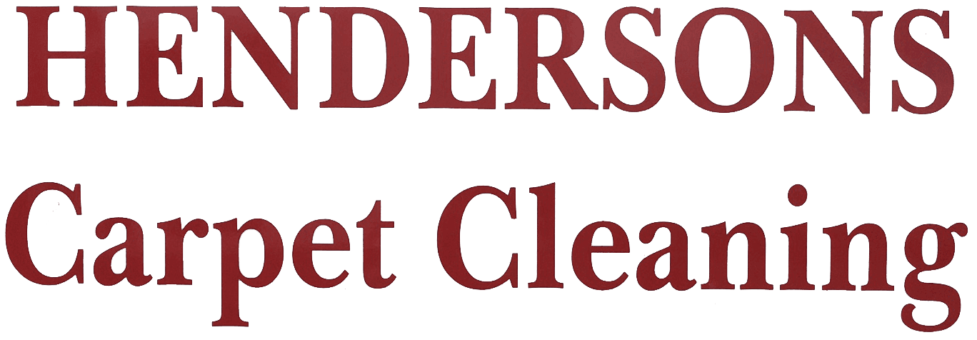 HENDERSON'S CARPET CLEANING - Logo