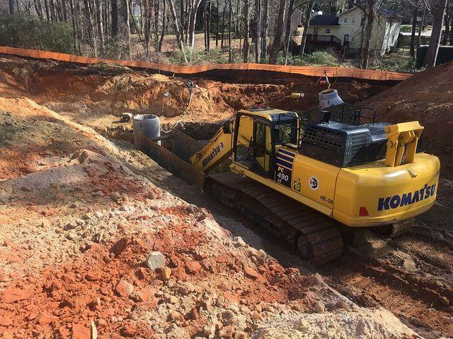 Sanitary Installation Service : Sanitary sewer installations tunneling williamson ga