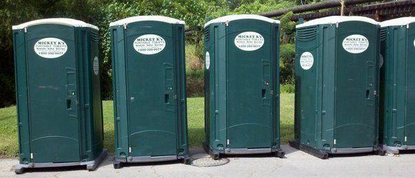 Portable public restroom