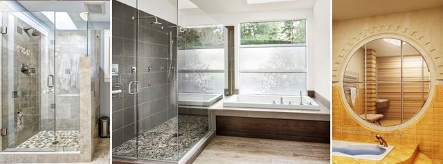 Shower And Mirrors Glass Replacement Middle River MD - Bathroom shower glass replacement