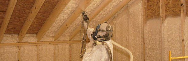 Spray in Place Insulation