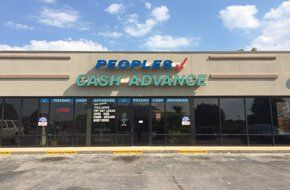 Peoples Cash Advance store