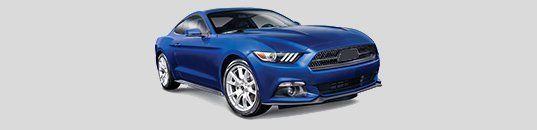 Blue 2-door sports car
