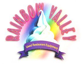 Rainbow Valley Used Restaurant & Ice Cream Equipment - Logo