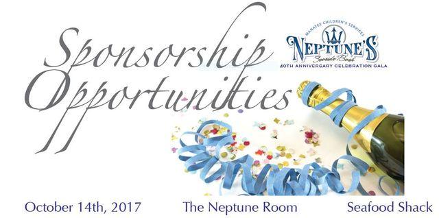 Sponsor of Neptune Gala