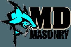 M D Masonry - Logo