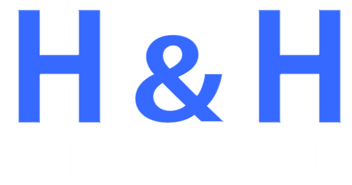 H & H Auto Collision Logo