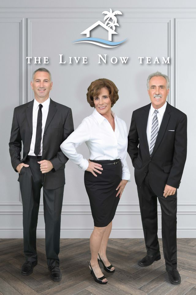 The Live Now Team - Scott, Carolyn & Jim