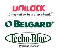 Unilock, Belgard, Techo-Bloc